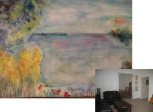 Malerei und Therapieraum